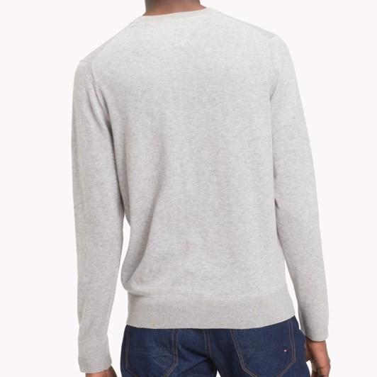 Tommy Hilfiger Core Cotton-Silk Cneck