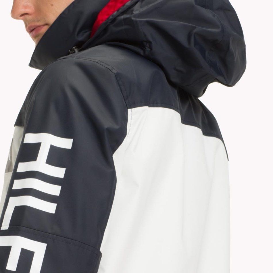 Tommy Hilfiger Tech Hooded Jacket - haute red