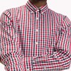 Tommy Hilfiger Heather Gingham Shirt - haute red  blac