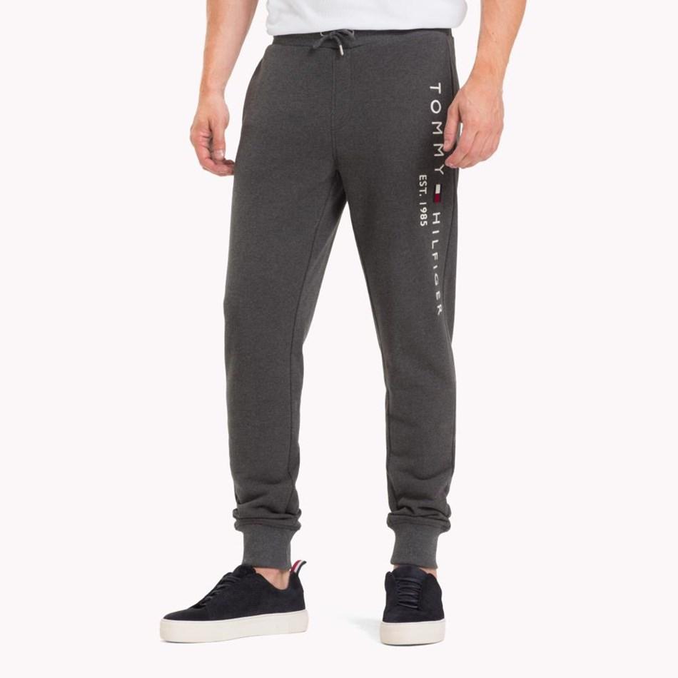 Tommy Hilfiger Basic Branded Sweatpants - charcoal htr