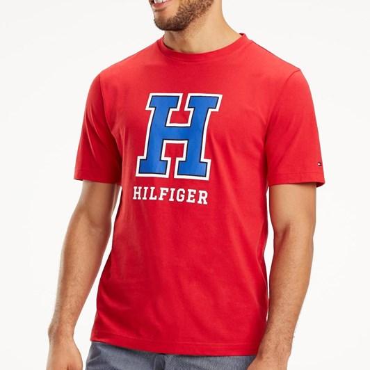 Tommy Hilfiger Wcc H Logo Tee