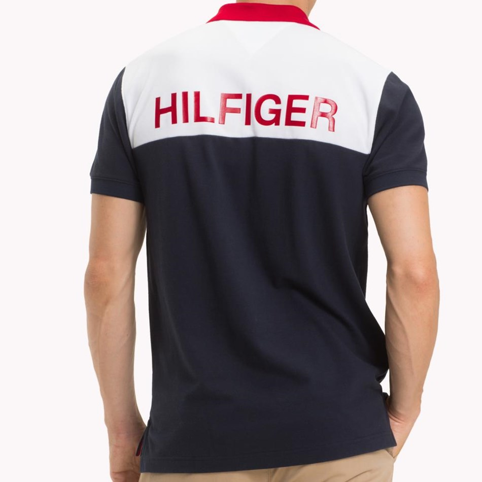 Tommy Hilfiger Wcc Colorblock Regular Polo -