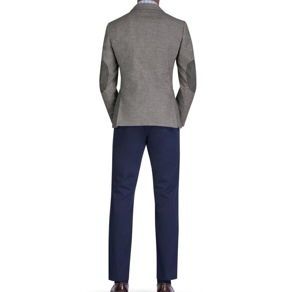 T.M.Lewin Agnelli Neutral Semi Plain Jacket -