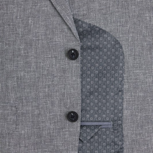 T.M.Lewin Ashdown Grey Semi Plain Jacket