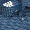 T.M.Lewin Slim Sc Circle Print Teal Shirt -