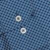 T.M.Lewin Slim Sc Circle Print Teal Shirt - teal