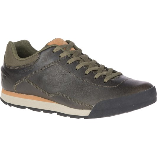 Merrell Burnt Rocked Leather Shoe