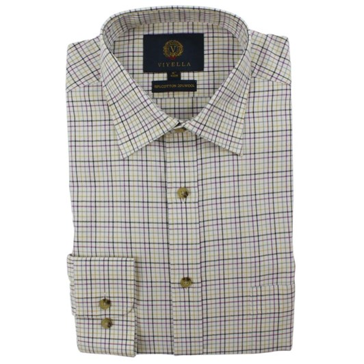 Viyella Mini Tattersall Shirt