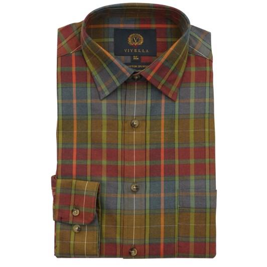 Viyella Country Plaid Shirt