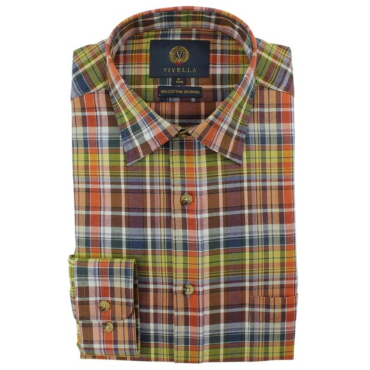 Viyella Plaid Shirt
