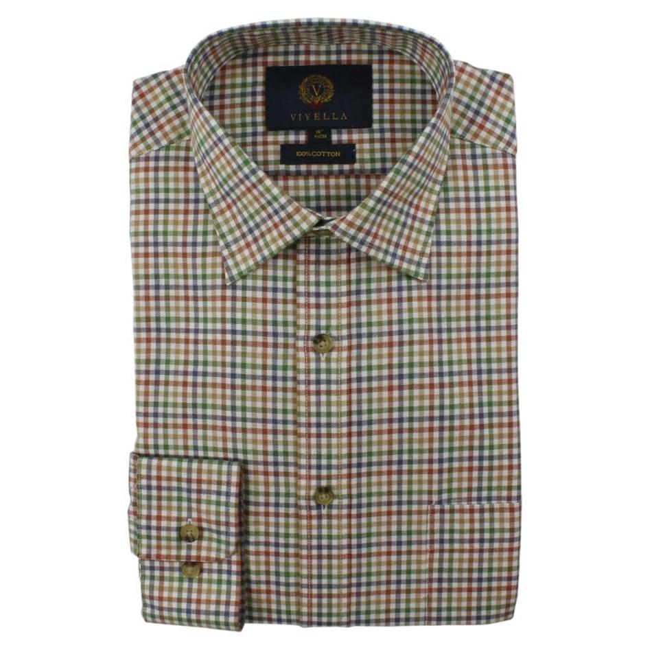 Viyella Small Club Check Shirt -