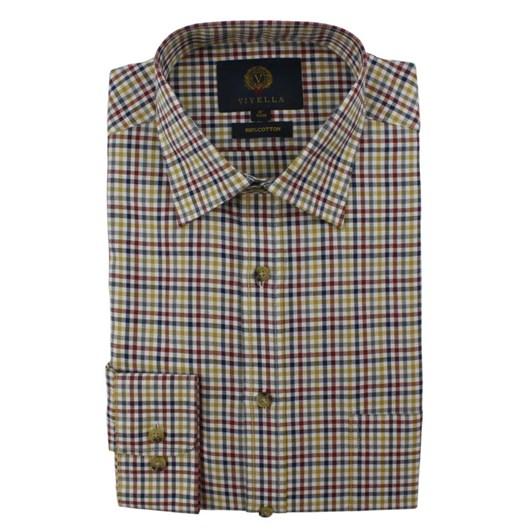 Viyella Small Club Check Shirt