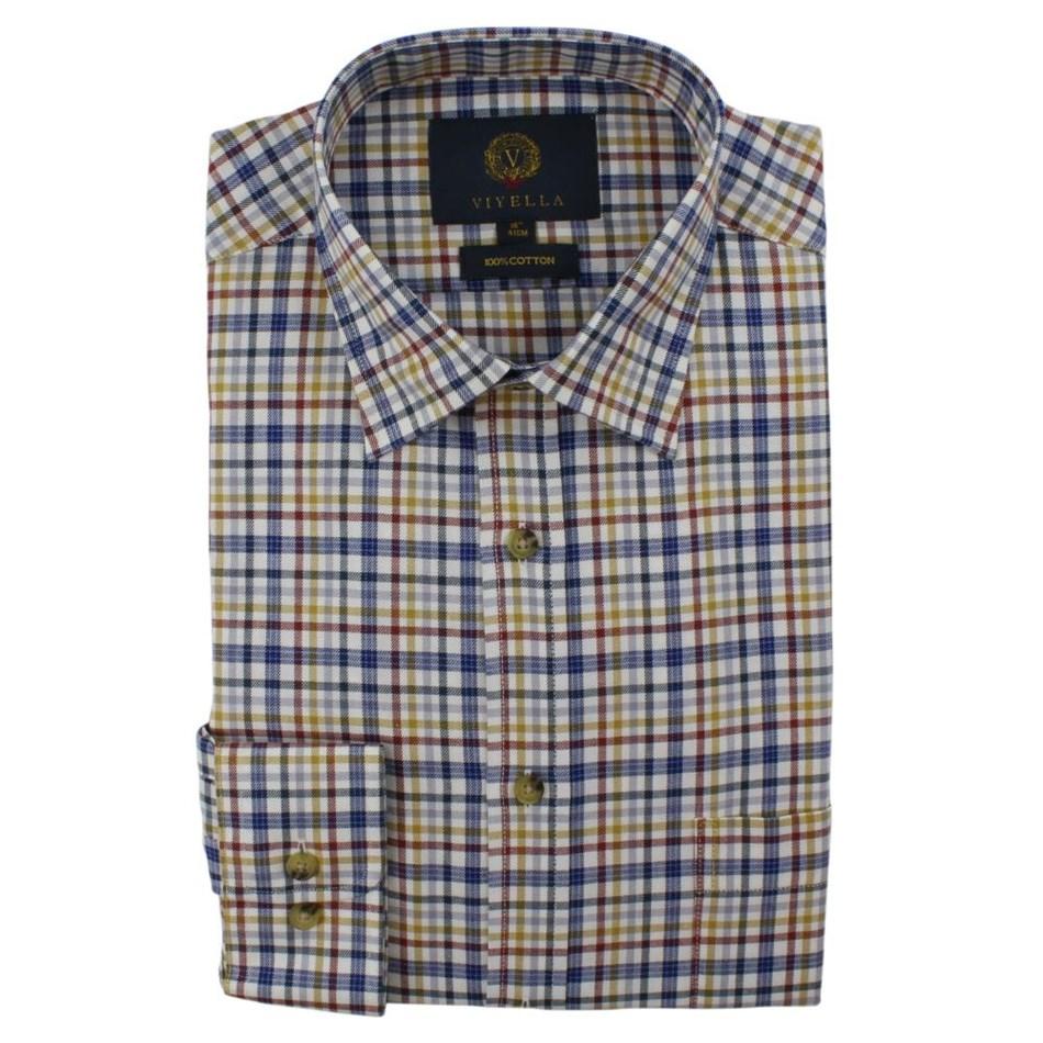 Viyella Check Shirt -