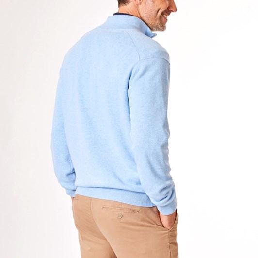 Gazman Cotton Stretch Half Zip