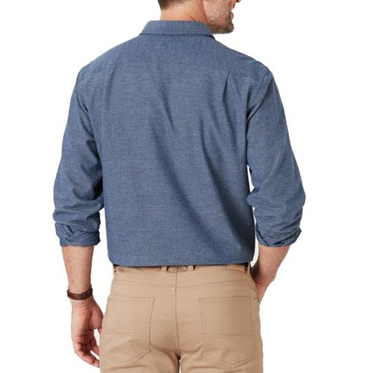 Gazman Brushed Jaspe Plain Shirt