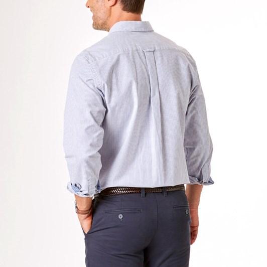 Gazman Casual Stretch Oxford Stripe