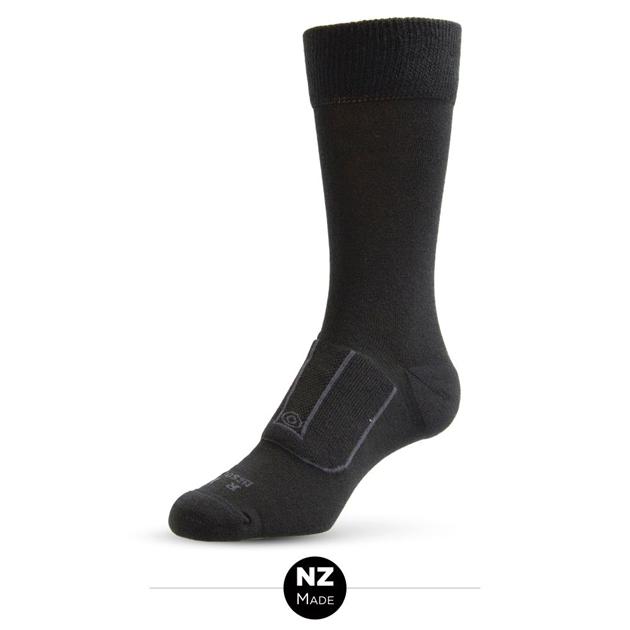 NZ Sock Co F670 Sock - 947 black