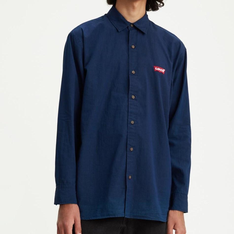 Levis Oversize Batwing Shirt - indigo