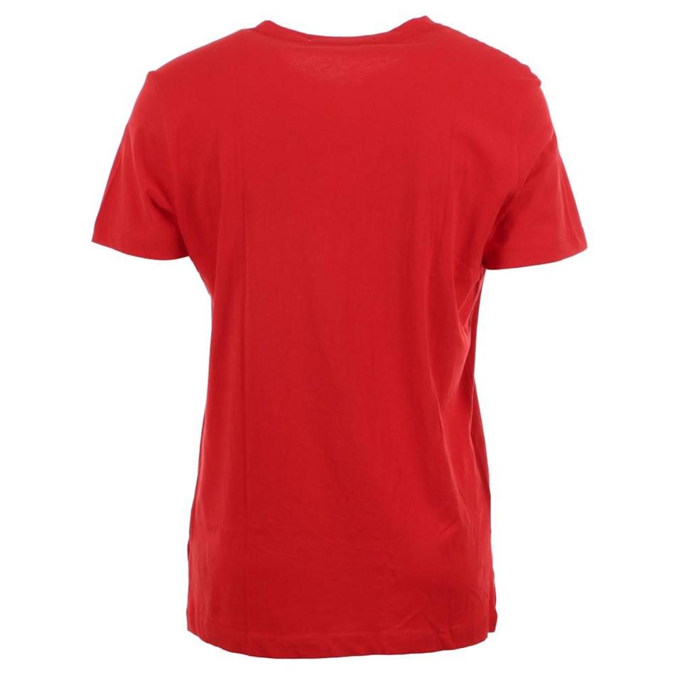 Calvin Klein Instnal Logo Slim Tee Red Ckjm Pol -