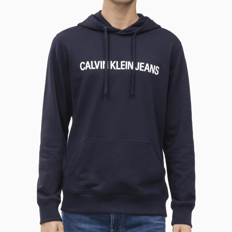 Calvin Klein Instnal Reg Hoodie - night sky