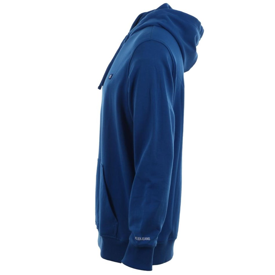 Calvin Klein Ckj Chest Hoodie Nautical Blue Ckjm Swt - blue