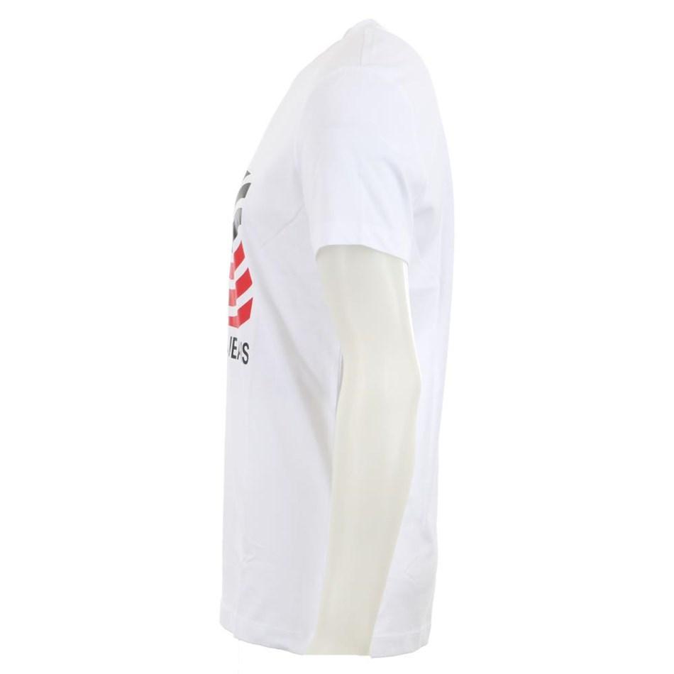 Calvin Klein Modernist Logo Slim Tee - white