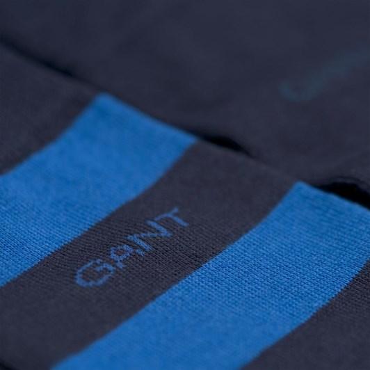 Gant 2-Pack Bar Stripe Socks