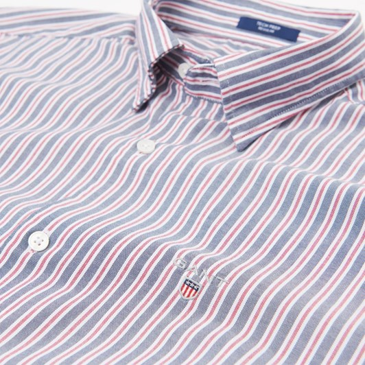 Gant O1. Tp Oxford Multi Stripe Reg