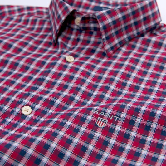 Gant O1. Tp Oxford Check Reg Hbd