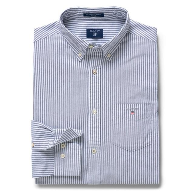 5c38f012d3 Shirts - long sleeve - Gant The Oxford Banker Reg Bd - Ballantynes ...