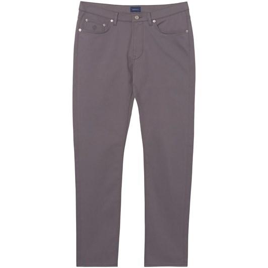 Gant O1. Tapered Satin Jeans