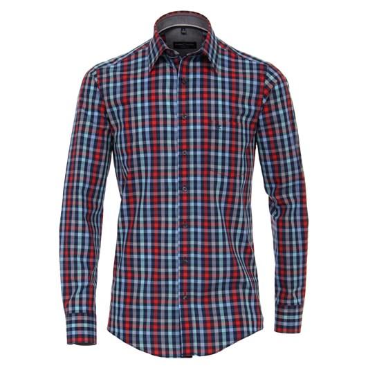 Casamoda Shirt Casual Long Sleeve Kent Check