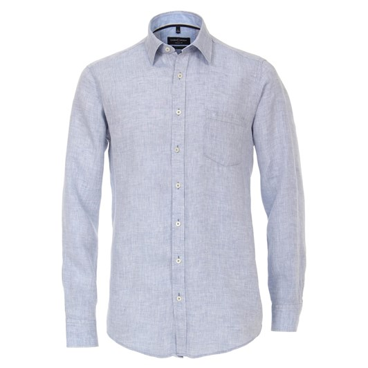 Casamoda Shirt Casual Long Sleeve Kent Plain
