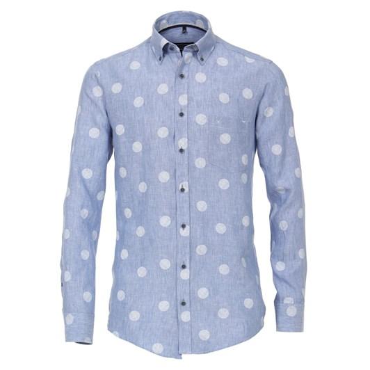 Casamoda Shirt Casual Long Sleeve B.D. Print