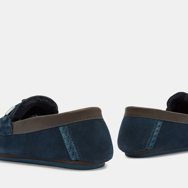 57a1c806f Dress Shoes - Ted Baker Valcent Suede Moccasin Slippers ...