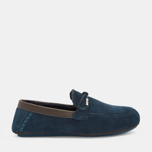 Ted Baker Valcent Suede Moccasin Slippers