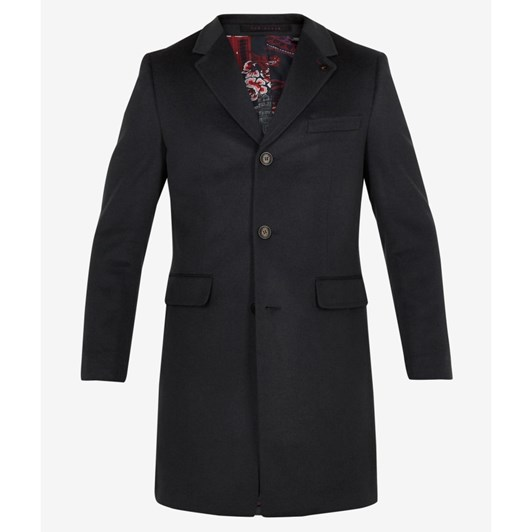 Ted Baker Cashmere 3 Button Overcoat