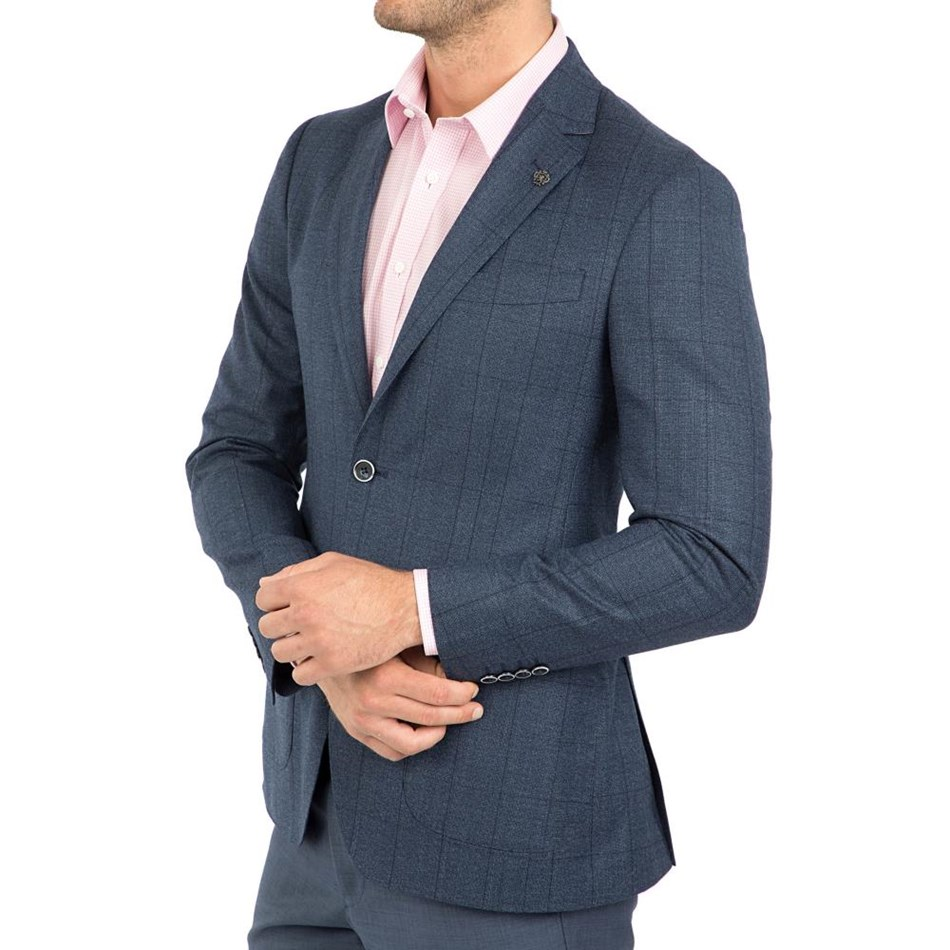 Cambridge Beaumaris Fch324 Sports Jacket - blue