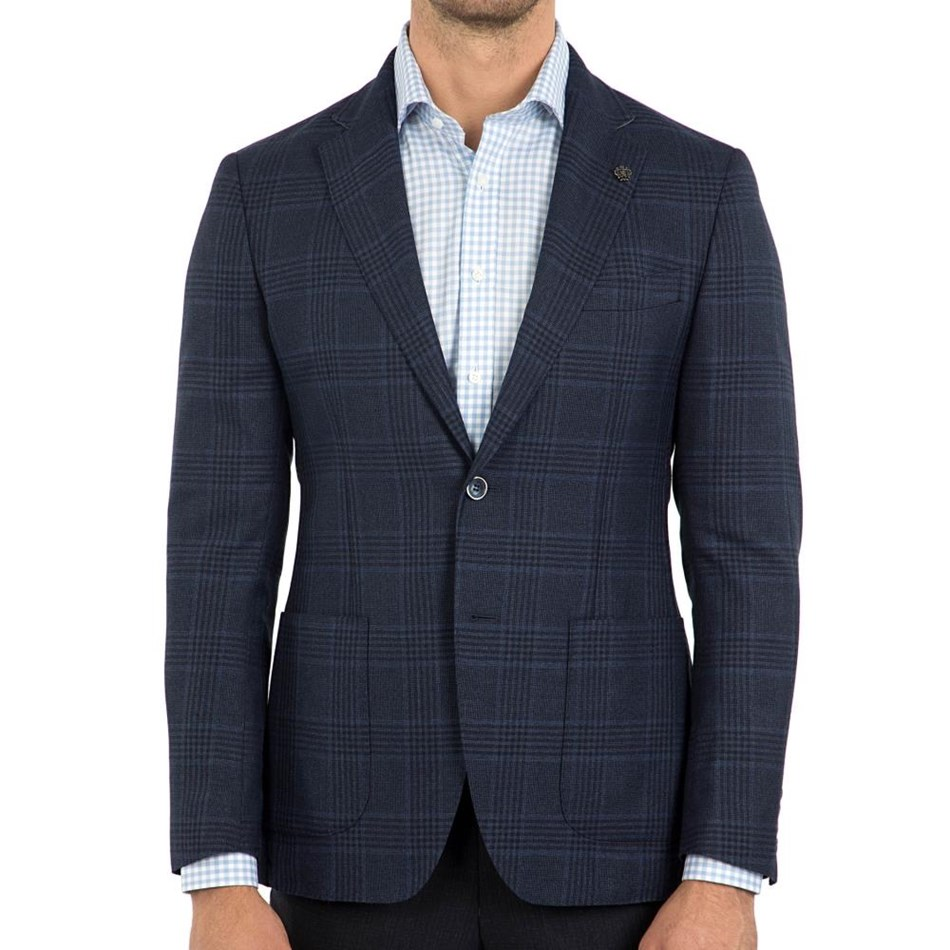Cambridge Glamorangean Fch316 Sports Jacket - blue dk regular