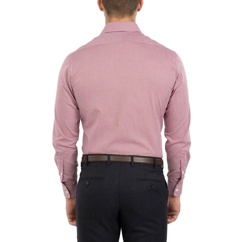 Cambridge Kingsbury Fch247 Shirt - red-r