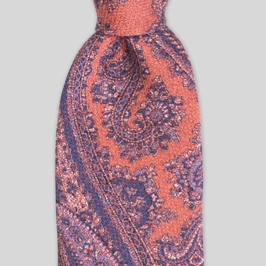 Joe Black Soft Paisley 7.5Cm Tie