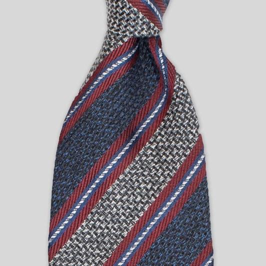 Joe Black Hessian Stripe 7.5Cm Tie