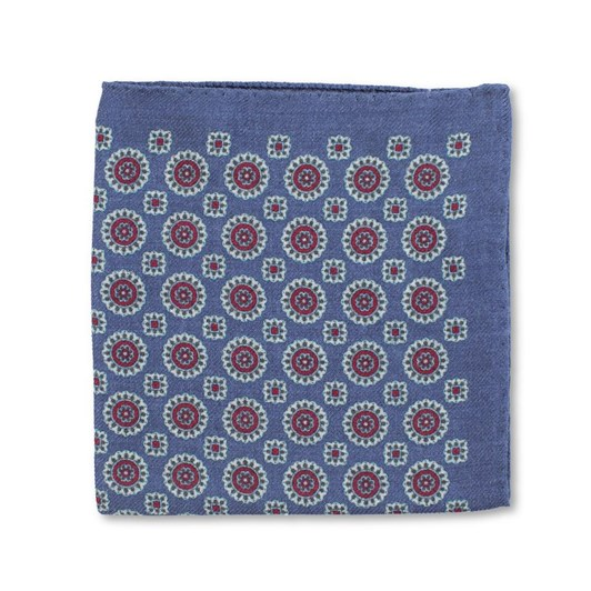 Joe Black Foulard Wool Pochette Pocketsquare