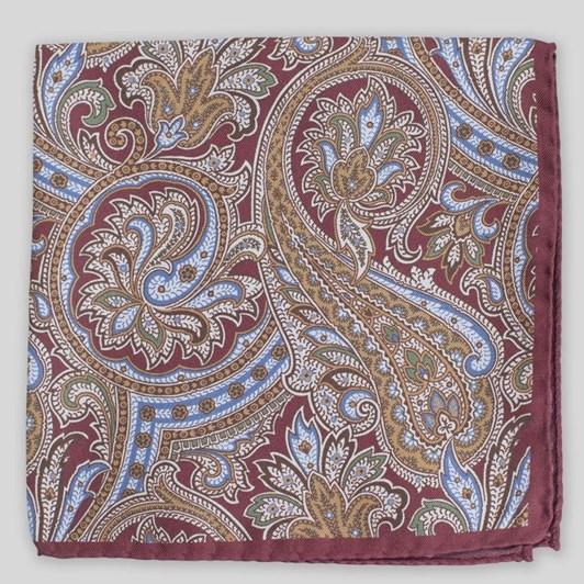Joe Black Autumn Paisley Pochette Pocketsquare