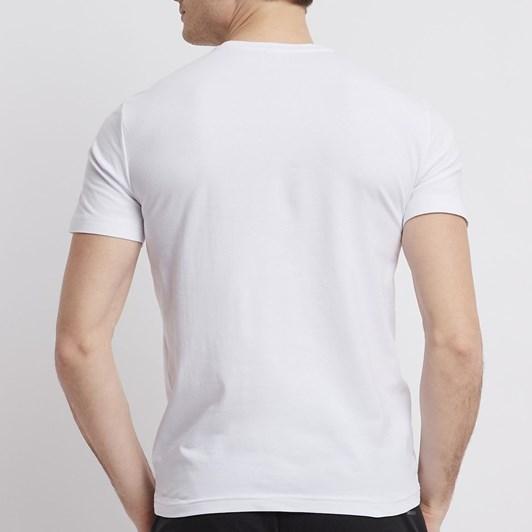 Ea7 Stretch cotton T-shirt