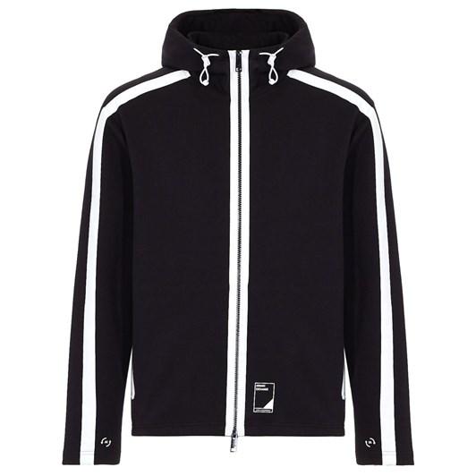 Armani Exchange Hooded Sweatshirt With Contrasting Details
