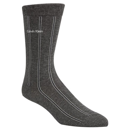 Calvin Klein Chalk Stripe Sock