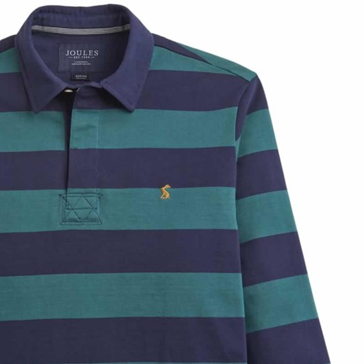 Joules Long Sleeve Stripe Rugby Shirt