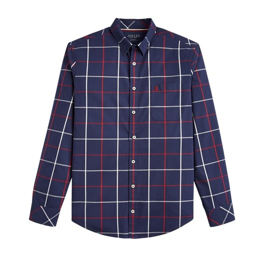 Joules Long Sleeve Classic Fit Check Shirt