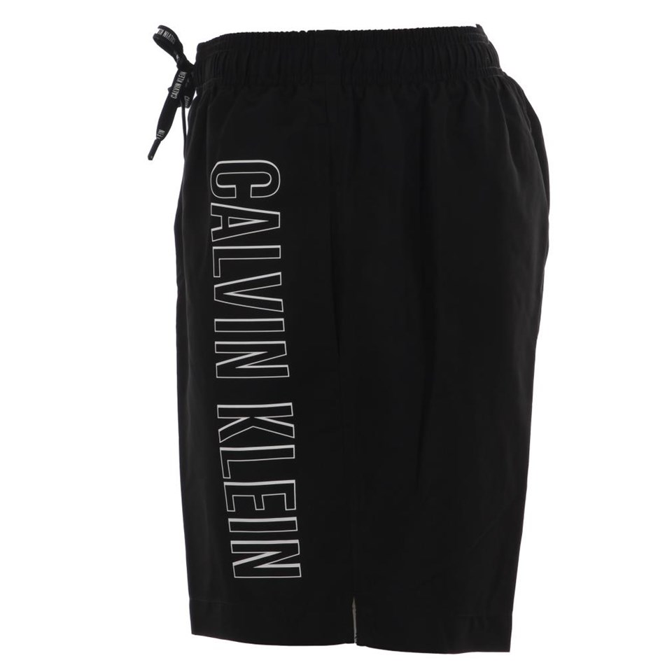 Calvin Klein Intense Pwrmdm Drwstng Black Ckum Swm - black
